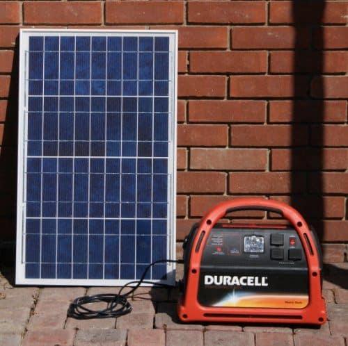 review duracell solar plug 39 n play solar generator my gen set. Black Bedroom Furniture Sets. Home Design Ideas