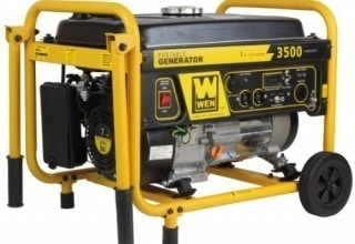 review wen gas powered portable generator series